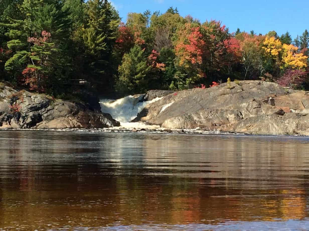 Autumn in cottage country