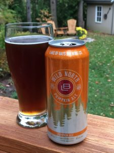 Lake of Bays Wild North Pumpkin Ale